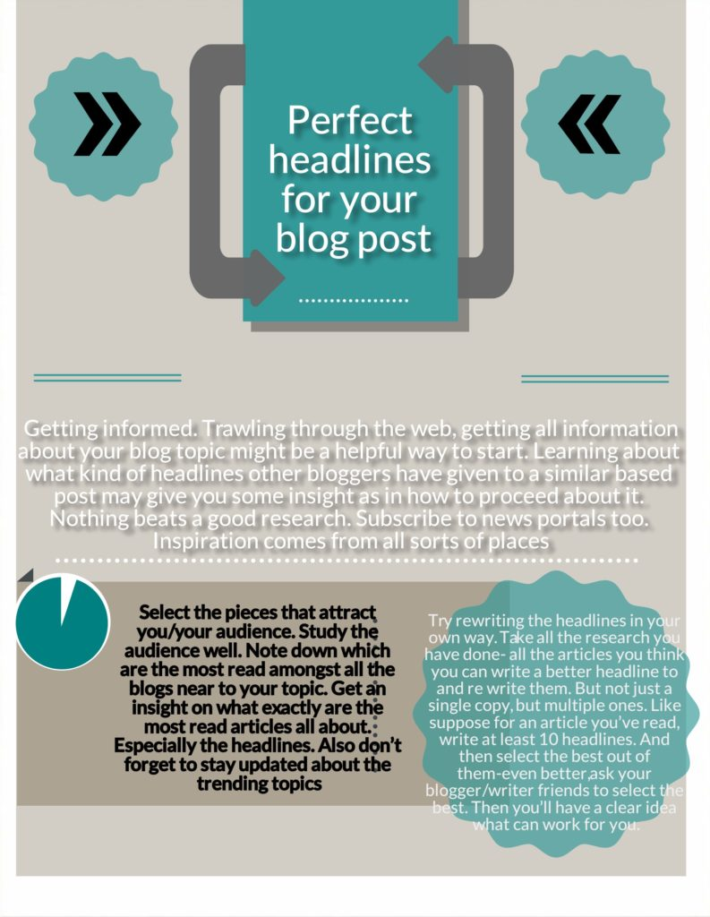 perfect headlines of your blog post