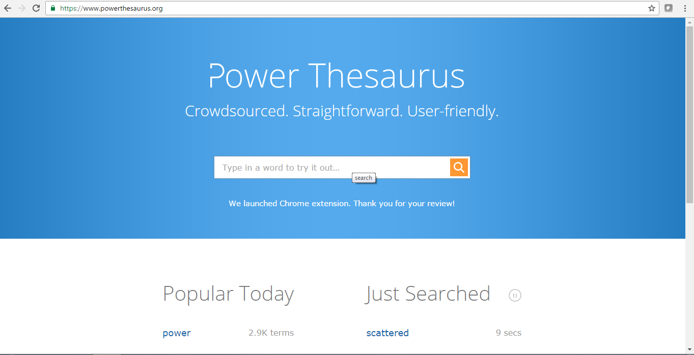 power-thesaurus